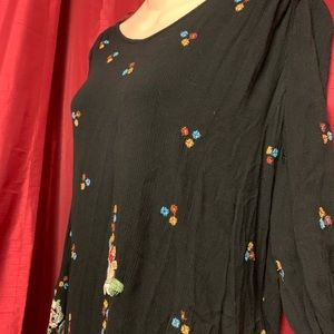 Free People Dresses - Free People Embroidered Dress Size Large